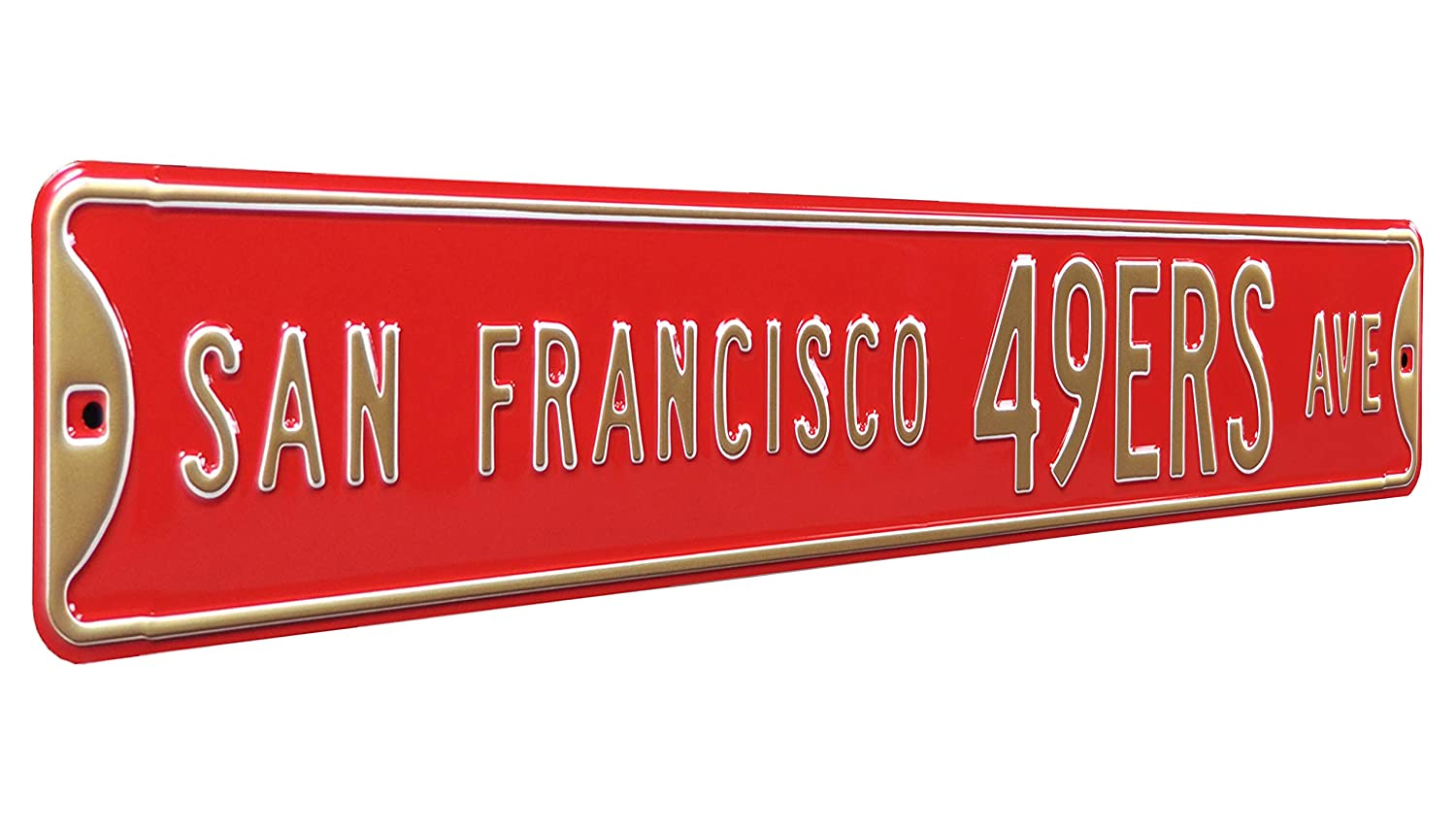 Fremont Die NFL Football Metal Wall Décor- Large, Heavy Duty Steel Street Sign by Authentic Street Signs Inc. 35047