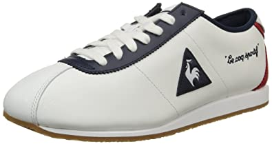 8c09b7efe90f Le Coq Sportif Men s Wendon Lea Low-Top Sneakers White Size  7 ...