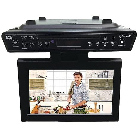 Exceptional Sylvania SKCR2706BT 10.2u0026quot; Under Cabinet Kitchen TV With Built In DVD  Player U0026 HDMI,