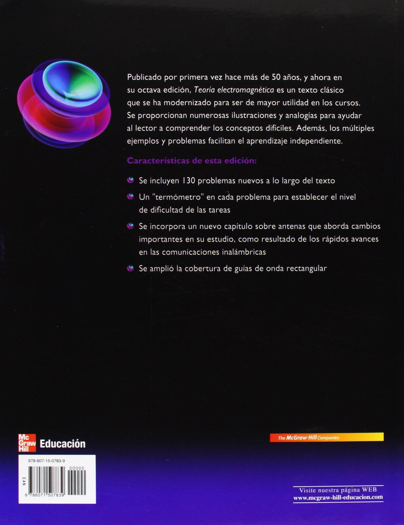 libro de teoria electromagnetica de william hayt