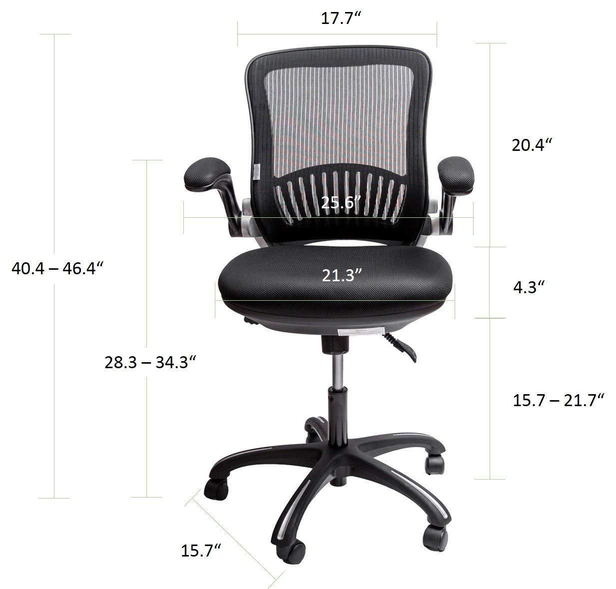 Amazon com: Sleekform Ergonomic Adjustable Office Desk Chair