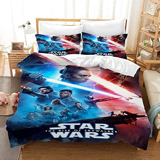 Amazon.com: NOOS Star Wars Bedding for Kids and Teens 3D Star Wars