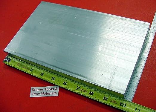 "4 Pieces 1/""x 4/"" ALUMINUM FLAT BAR 8/"" long 1.0/"" Solid 6061 T6511 New Mill Stock"