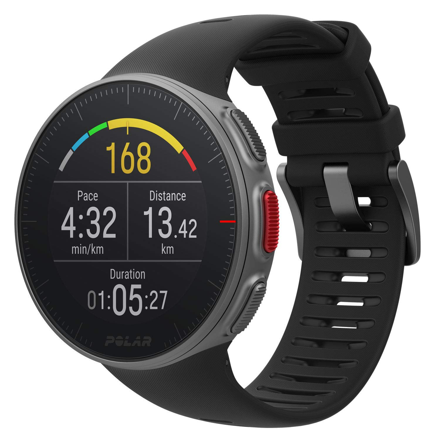 PlayBetter Polar Vantage V Pro (Black with H10 Heart Rate Sensor) Power Bundle Portable Charger & Screen Protectors | Multisport Watch | GPS & Barometer by PlayBetter (Image #3)