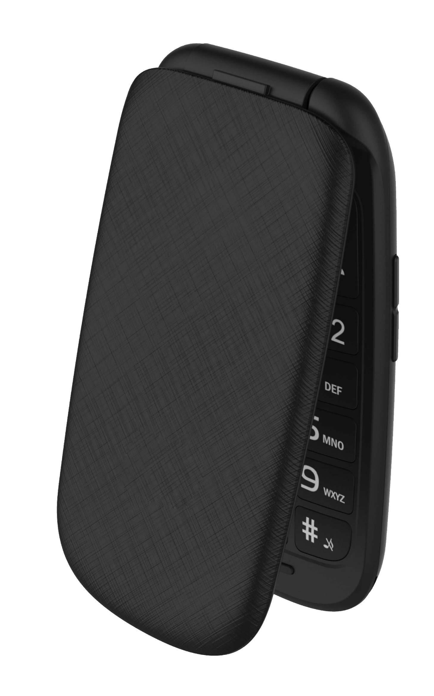 Plum Flipper 2 – Flip Phone Unlocked GSM Big Screen Big