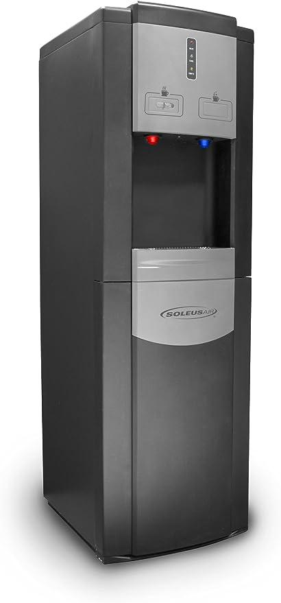 Soleus Air # WA1 – 02 – 21 A Aqua Sub Easy-Load refrigerador de agua, Negro: Amazon.es: Grandes electrodomésticos