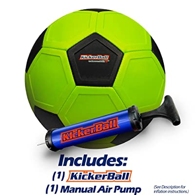 FOOTBALL TOY KICKERBALL BY SWERVE BALL