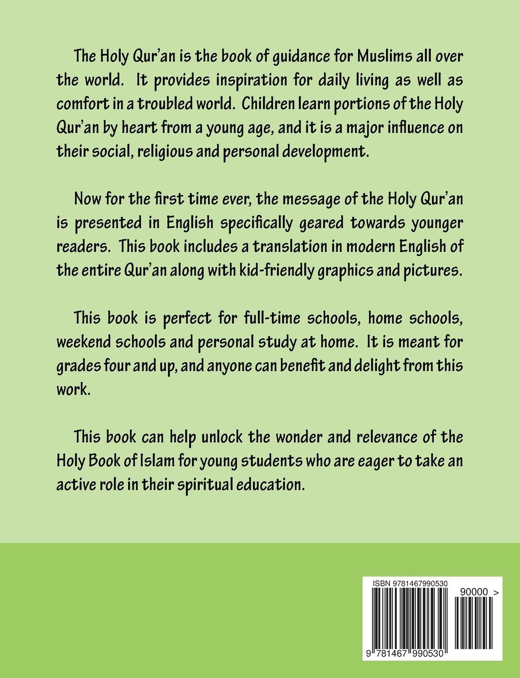 The Meaning of the Holy Qur'an for School Children: Amazon