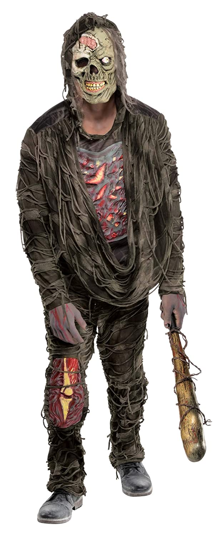 Halloween Zombie Costume.Standard Adult Creepy Zombie Costume Amazon In Toys Games