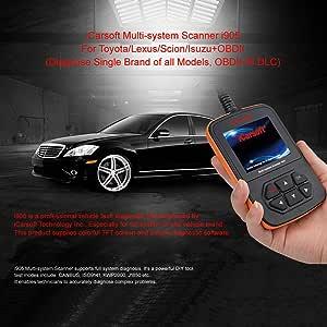 iCarsoft i905 Toyota Lexus Scion Isuzu OBD2 Diagnostic Scanner Multi-System Engine ABS SRS