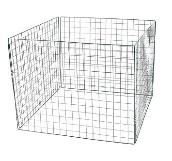 LEX Komposter Stahlgitter 90 x 90 x 70 cm
