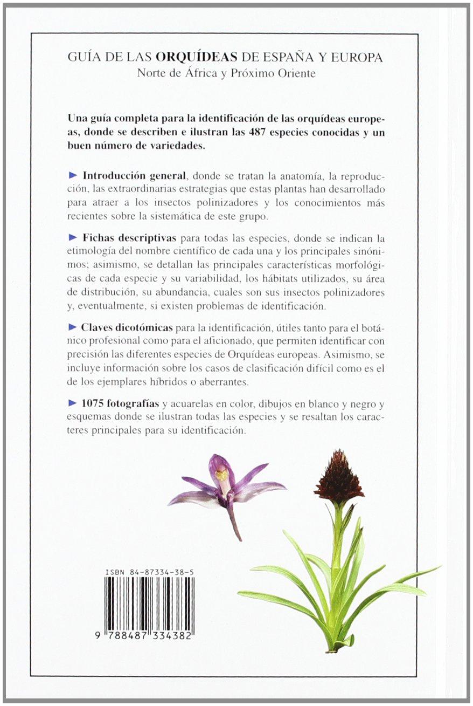 Guía de las Orquideas de España y Europa Descubrir la Naturaleza ...