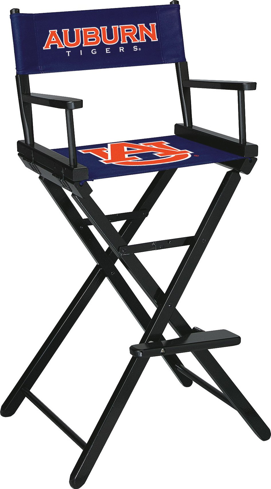 Imperial Officially Licensed NCAA Merchandise: Directors Chair (Tall, Bar Height), Auburn Tigers
