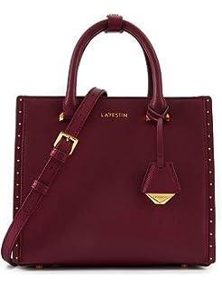 fddead026f24 LA FESTIN Women s Tote Style Leather Handbags with Long Cross Body Strap  Medium Top Handle