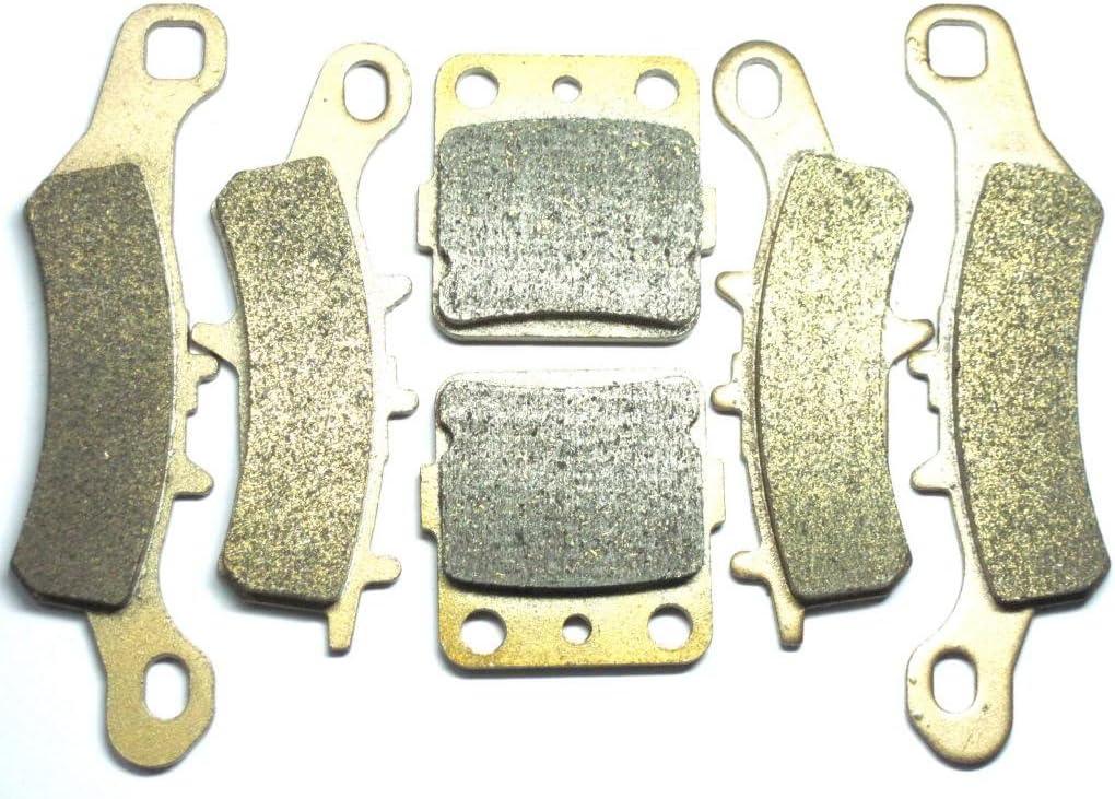 Master Chen Front Rear Brake Pads Brakes for Kawasaki KFX KSF 450 R KSF450 FA258F FA342F FA084R MC0321-PAD