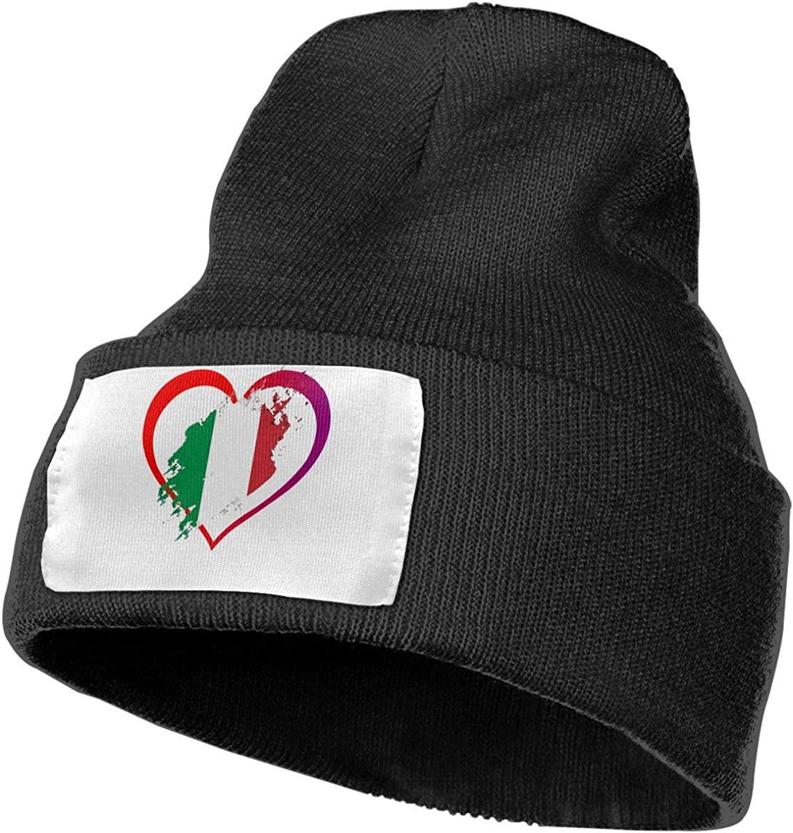 TAOMAP89 Strong Mexican Pride Flag Women and Men Skull Caps Winter Warm Stretchy Knitting Beanie Hats