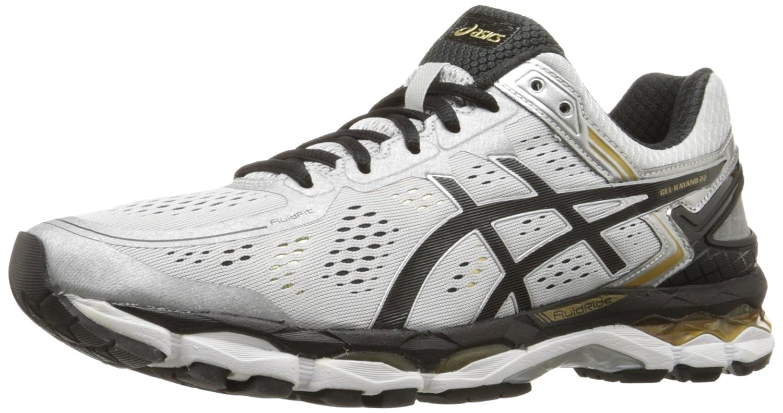 ASICS Men's GEL-Kayano 22 Running Shoe B00PM10ZZM 7.5 D(M) US|Silver/Black/Gold