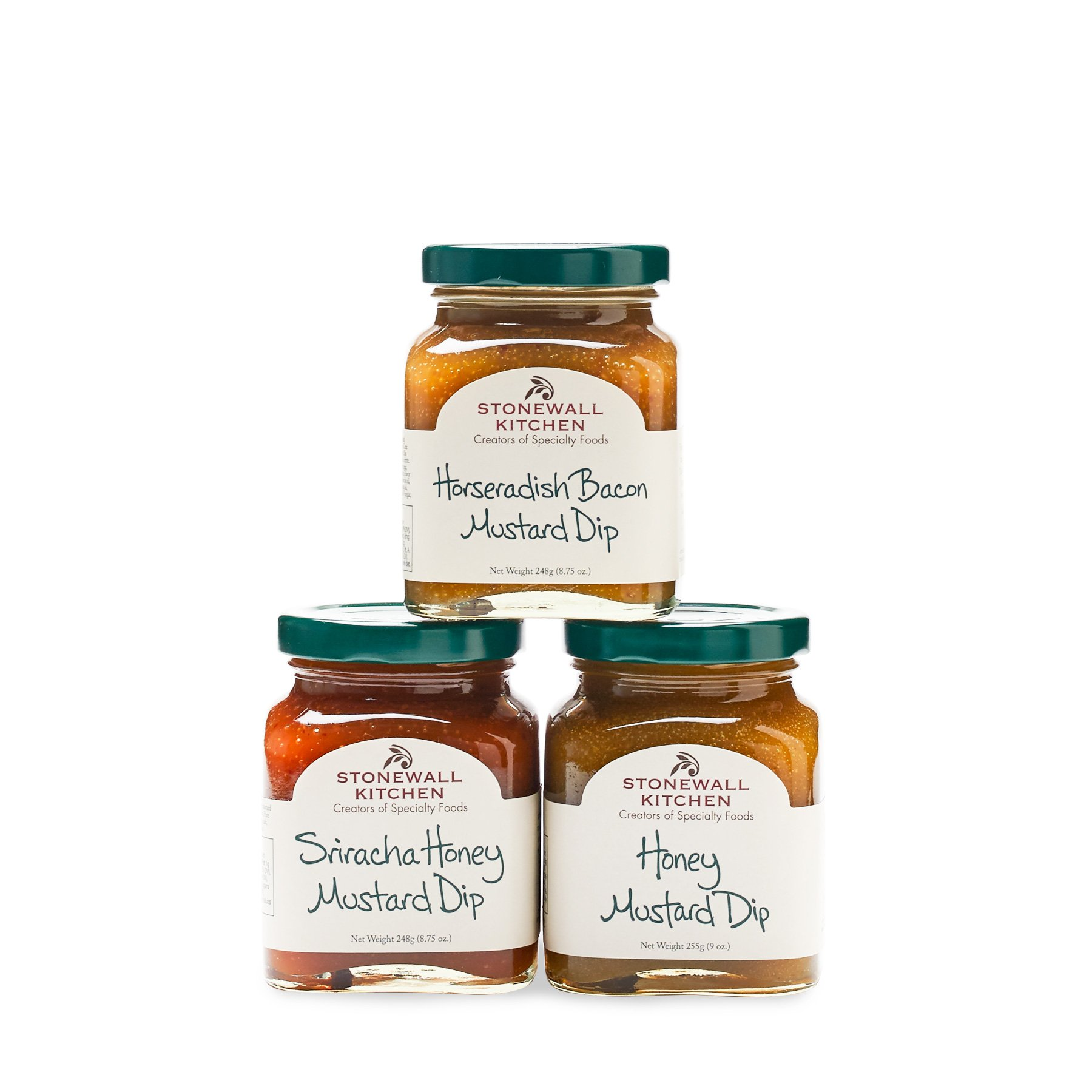 Stonewall Kitchen Our Dipping Mustard Collection (3pc)