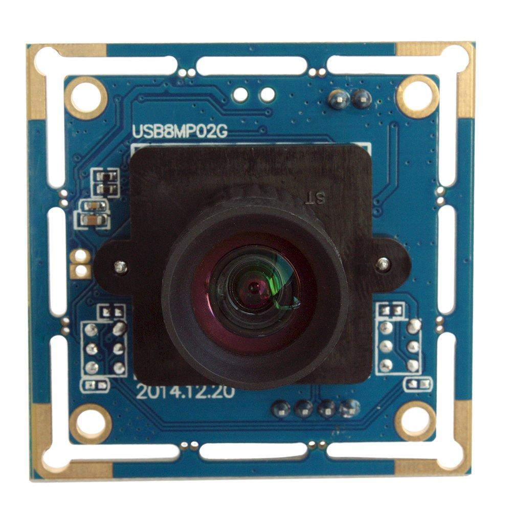 ELPラズベリーPi HD 8メガピクセルWebカメラUSBカメラfor androird LinuxとWindows 180 degree Fisheye lens B01HD1V3UO 180 degree Fisheye lens  180 degree Fisheye lens