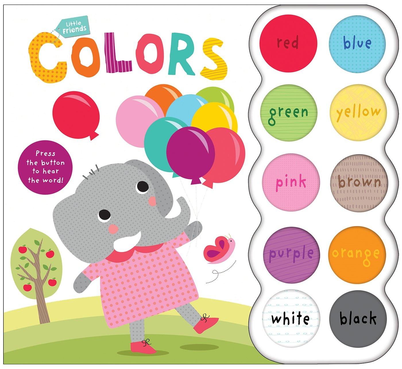 Read Online Little Friends Sound Book: Colors pdf