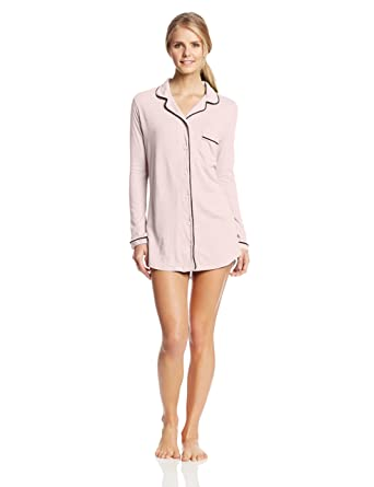 2910c60b0f094 Amazon.com  Only Hearts Women s Organic Cotton Piped Button Front ...