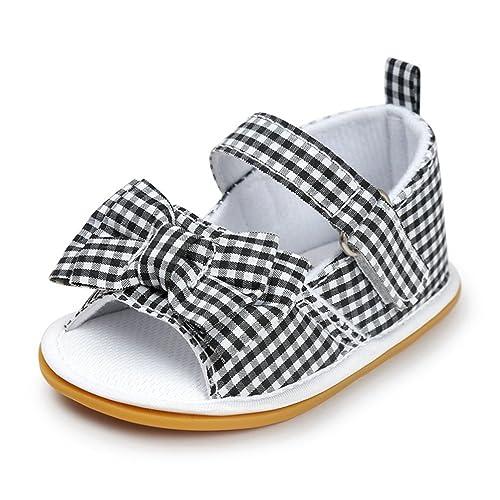Sandalias de niño recién Nacido Sandalias de algodón de Suela Blanda ...