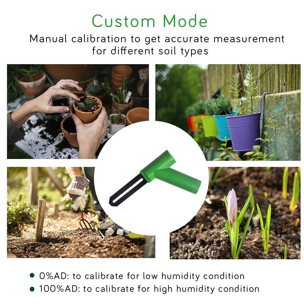 ECOWITT WH0291 Soil Moisture Tester Plant Soil Moisture
