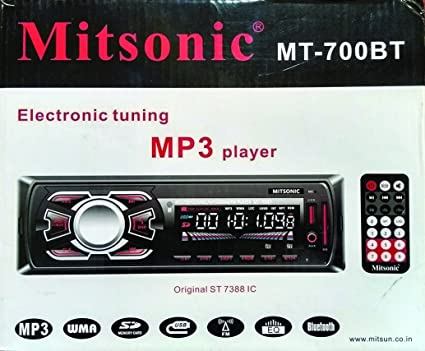 Mitsonic MT-700BT Car MP3 Player: Amazon in: Electronics