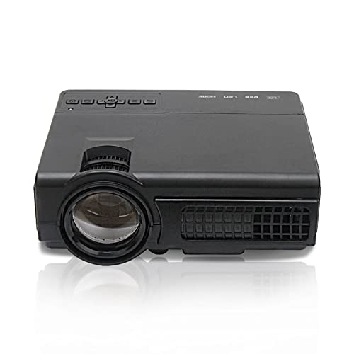 Supemale Video Projector,2000 Lumens,Support 1080P,20000 Hours Life Time Home Cinema Theater Multimedia Projector Support HD PC USB HDMI AV VGA