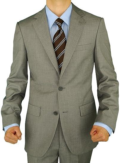 GN GIORGIO NAPOLI Men's Two Button Blazer Modern Fit Suit Separate Coat Jacket