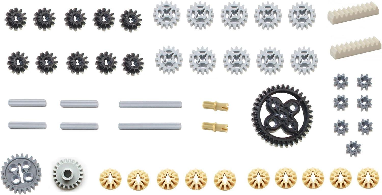 LEGO 50pc Technic gear & axle SET #2