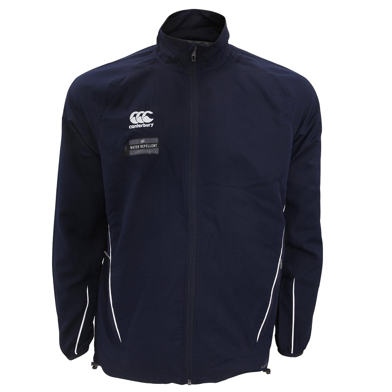 Canterbury Mens Team Athletic Water Resistant Track Jacket