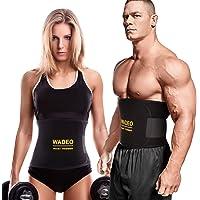 HK Fitnessgordel, instelbare taille-trimmer/buikweggordel/zweetgordel, buikgordel afslanken, buikgordel vet-wegriem…