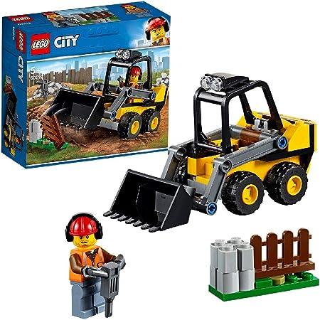 Incluye una minifigura de un trabajador del servicio de carreteras de LEGO City.,Cuenta con una Retr