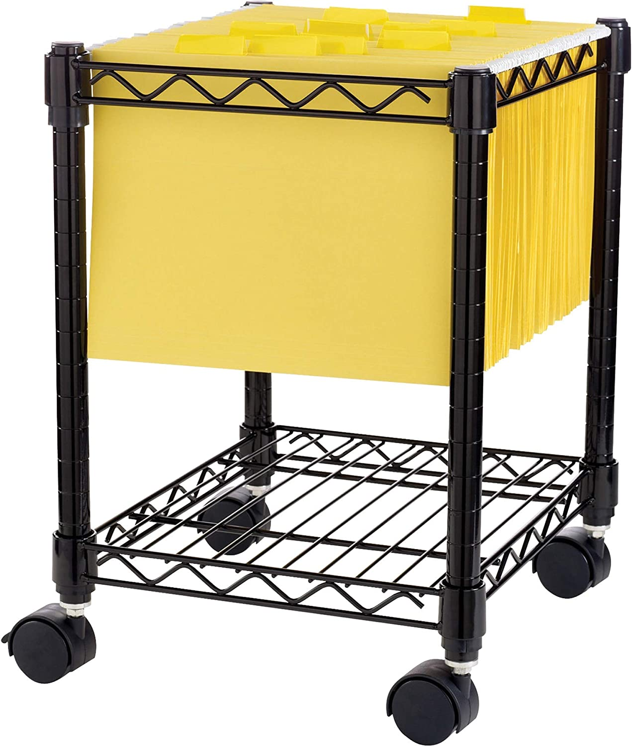 LLR62950 – Lorell Compact Mobile Wire Filling Cart