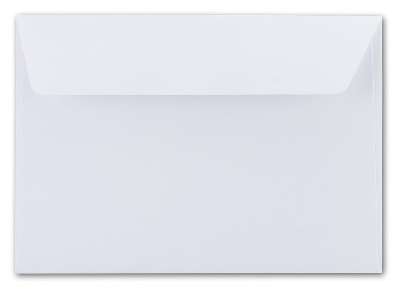 /114/X 162/mm/ /Molto Resistente/ Buste C6/ /QUALIT/À PREMIUM/ /striscia adesiva//&ndash /Alto Bianco//cristallo bianco/ /100/G//M/²/