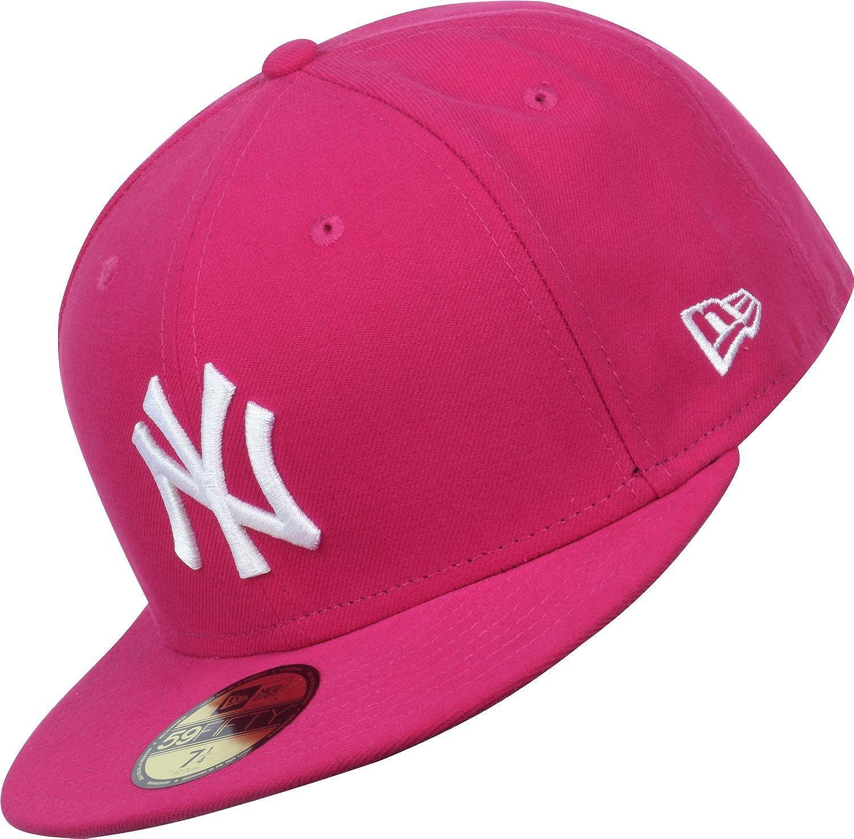 New York Yankees pink New Era Damen Mesh Trucker Cap