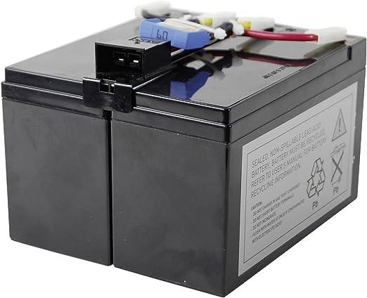 energy Ersatzbatería recargable Rbc48 para Apc Usv-Anlage: Amazon ...