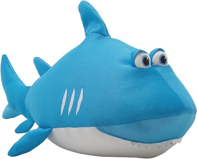 Aqua//White//Teal Mesh Big Joe Pretzel Float Accessories for Kids