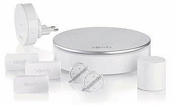 Somfy, Home Alarm, Pack alarma, gris plateado