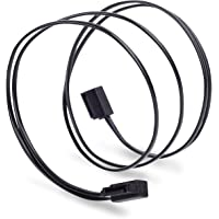 Silverstone Technology SST-CP11B-500 Cable SATA, color negro, 500 mm