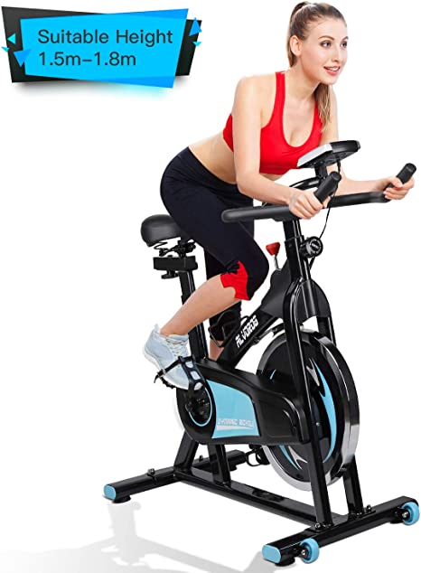 alvorog Bicicleta Estática de Spinning Profesional, Bicicleta de ...