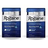 Men's Rogaine Hair Loss & Hair Thinning Treatment Minoxidil Foam, Six Month Supply