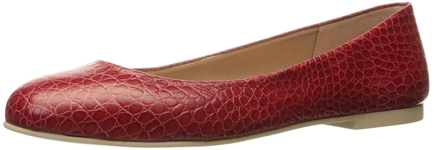 French Sole FS/NY Women's Radar Ballet Flat B01MS6WBNW 7 B(M) US|Cinnamon Crocodile Print