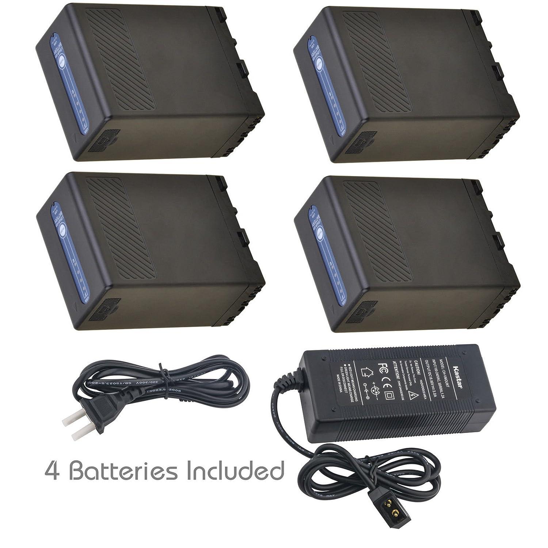 KastarバッテリD形D形急速充電器for ch-dtap-bpu68 – 1 bp-u68 bpu68 bp-u65 bpu65 4 Batteries + 1 Charger  B07DRRZ73H
