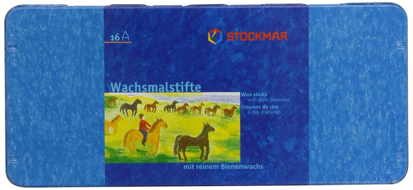 Stockmar Crayons 16 Pieces in a Tin Box