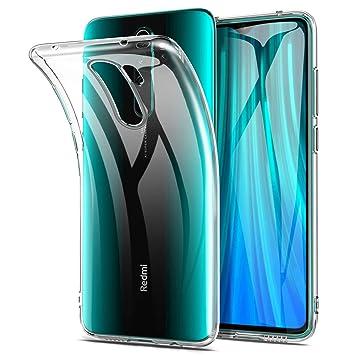 Yocktec Funda para Xiaomi Redmi Note 8 Pro, Funda Carcasa de Gel Ultrafina y Suave de TPU para Xiaomi Redmi Note 8 Pro (Transparente)
