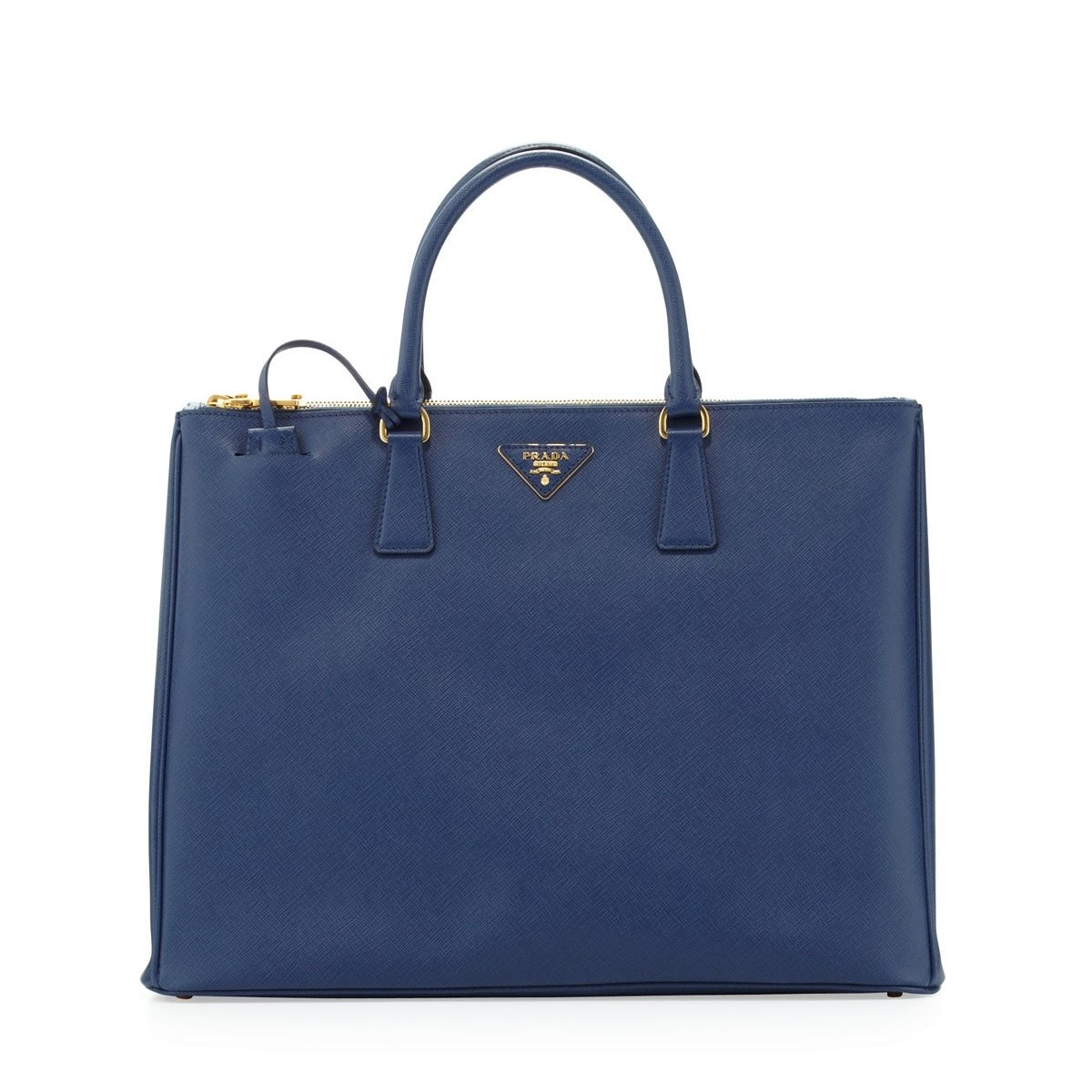 730cdd7dd2aad9 Prada Women's Tote Bag Saffiano Leather in Bluette Style BN1802:  Amazon.co.uk: Shoes & Bags