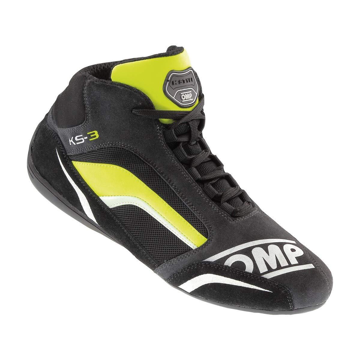 OMP Unisex-Adult KS-3 Shoes (Anthracite/Yellow, 42)