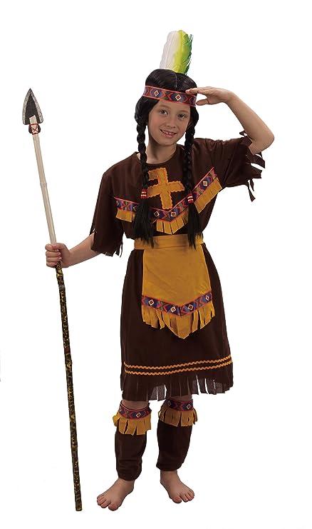 Disfraz de india para niña: Amazon.es: Juguetes y juegos